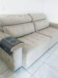 Sofá alto padrão retrátil e reclinável