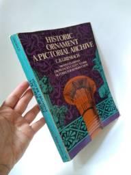 Livro de ornamentos históricos do Antigo Egito