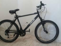 Bike em alumínio aro 26 Caloi