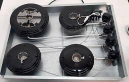 Título do anúncio: Cooktop s/ vidro a Gás 4 Bocas KE4GP Electrolux Bivolt - sem vidro