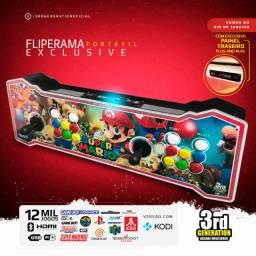 Fliperama Portátil 3rd com mais de 10.000 classicos
