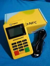 Nova maquininha minizinha NFC PAGAMENTO COM APROXIMAÇÃO