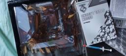 Placa Mãe Asrock B550 Steel Legend Atx Am4 + 2x 8gb Fury HyperX 2.300