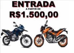 Crédito para motos novas ou semi novas ( Sinal+Letra )