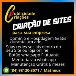 Crie seu site profissional em natal!