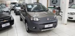 Fiat uno 1.4 way cinza 2011 flex