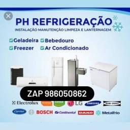 Título do anúncio: ph refrigeração, não cobro orçamento!zap *