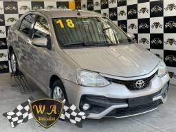 Título do anúncio: Toyota etios sedan 2018 1.5 xls sedan 16v flex 4p automÁtico