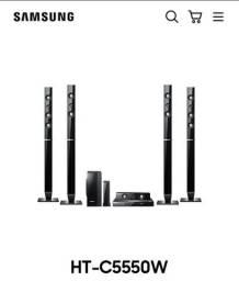 Home Theater Samsung Blu-ray 3d Wireless 5.1, 1000W