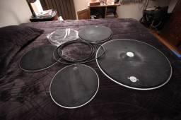 Pele muda Dudu Portes (Kit com 5 peças) + Protetor de aro (Kit com 4)
