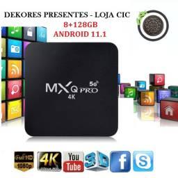 Tv Box 8 GB 128 GB rom Android 11 - Smart TV - 5G