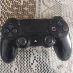 Título do anúncio: Vendo Controle PS4 Preto Dualshock 4 Original Usado