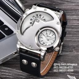 Relógio Oulm Importado, original, estilo casual