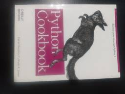 Título do anúncio: Livros Python Cookbook e Django Essencial