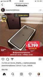 IPHONE 11 PRO, 256GB, VERDE MEIA NOITE, SEMINOVO