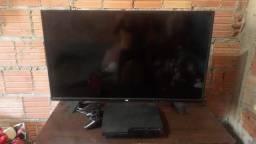tv  AOC de 40 polegadas e um PS3
