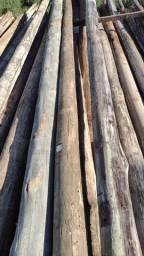Postes madeira tratada (usados redes )