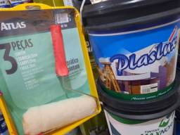 Combo ( 1 tinta 16L interna e externa + 1 kit pintura) na Cuiabá tintas  .. .