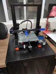 Impressora 3D Ender-3 com Placa SKR e extrusora BMG