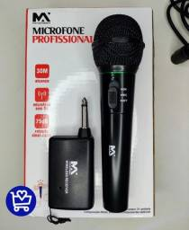 *Microfone Maximidia Sem Fio*