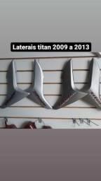Tampa lateral titan 150/2009 a 2013