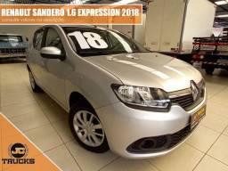 Título do anúncio: Renault Sandero Expression 1.6 2018