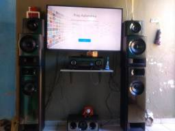 Vendo ou troco por TV Home Sony 7.2 completo, original ( Só o home )