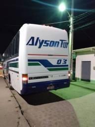 Ônibus rodoviário GV 1000 motor Volkswagen 16 210 promoção 35.000