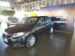 Título do anúncio: Renault Logan 1.6 16V Expression (Pack Avantage) 18-19 Preta