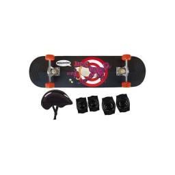 Urgente - Vendo Skate Infantil e Acessórios de Proteção