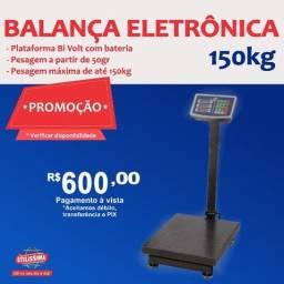 Título do anúncio: Balança Digital 150kg Plataforma Piso Reforçada ?  Entrega grátis