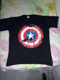 camisa capitão América...