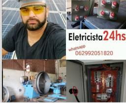 Título do anúncio: S.O.S Eletricista predial e residêncial e energia solar