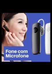 Fone + Microfone de Alta Potência