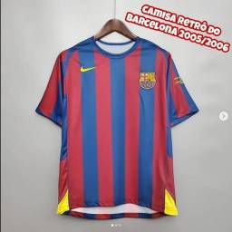 Camisa retrô do Barcelona 2005/2006
