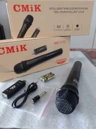 Microfone sem fio _varejo e atacado entrega a domicílio João Pessoa e região