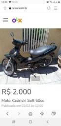 Quero comprar uma moto