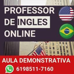 Professor de ingles individual online