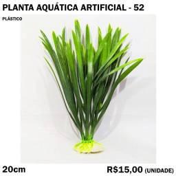 Planta Verde para Decorar Aquário