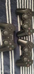 Título do anúncio: Controles e jogos de ps3