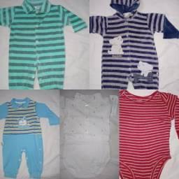 Lote roupas de bebe menino