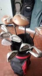 Tacos de golfe com bolsa