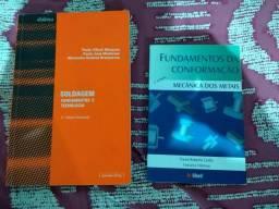 Livros para Engenharia (Soldagem fundamentos e tecnologia) (Fundamentos da conformação)