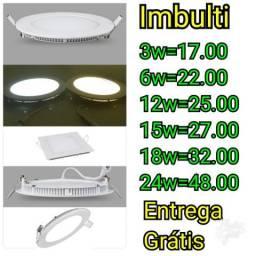 Luminárias de imbulti para gesso e pvc
