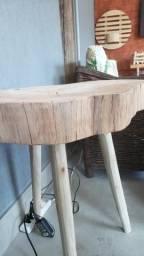 Toras fatiadas com madeira de lei citriodoro