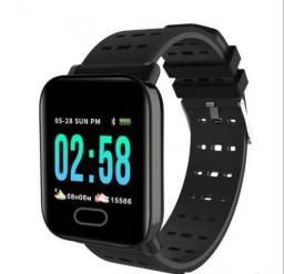 Smartwatch A6 - Relógio Inteligente, Funcional e Elegante - Produto Novo na Caixa