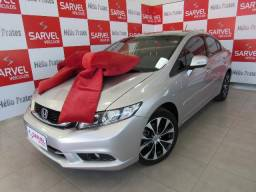 Honda Civic Lxr 2.0 Automatico, Multimidia, só Brasilia! - 2015