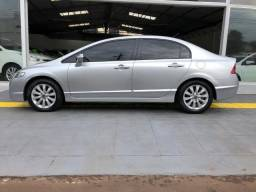 Honda Civic LXL Flex - Prata - 2011