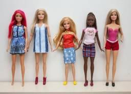 Lote com 5 Barbies Originais Mattel - Aceito Cartão