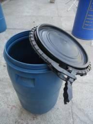 Bombona 80 litros com tampa grande de lacre * (41)3605-0555